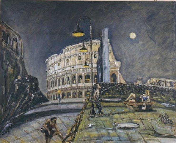 Colosseo anni '50