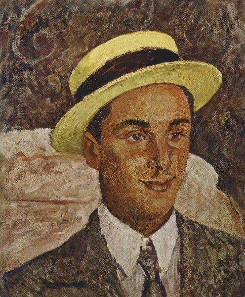 Marcello in paglietta 1932