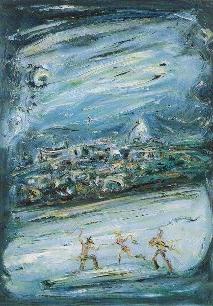 Notte trasteverina 1957